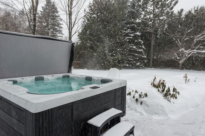 Relaxing Spacious Luxe Chalet: access to lake, SPA