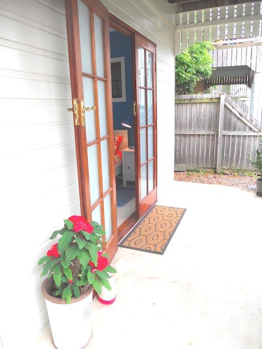 Own entrance on ground floor