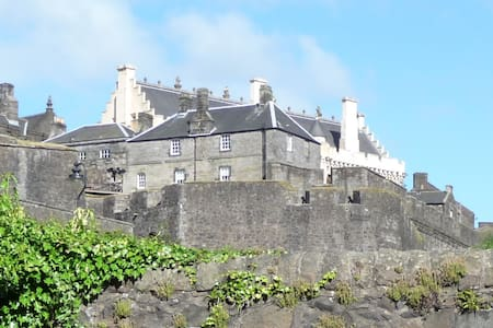 The Married Quarters by Stirling Castle