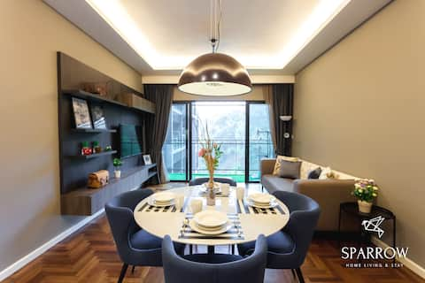 Sparrow Vista Suites | Walk to Starbucks | 6Pax