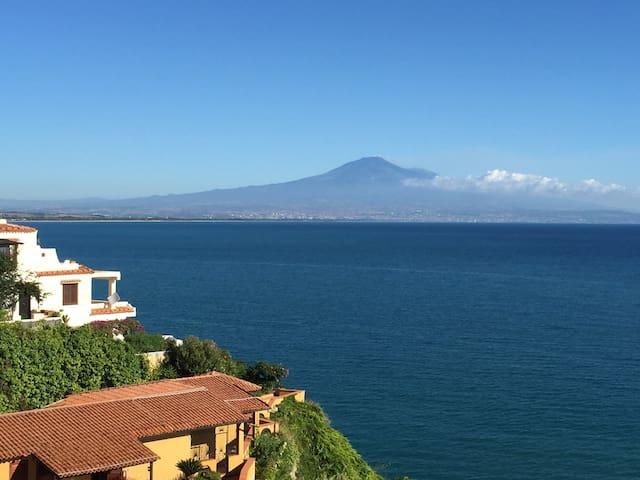 panorama imperdibile sul mare - Costa Saracena - Castelluccio - Apartment