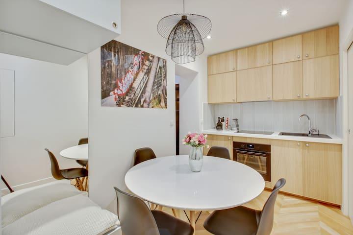 Pereire Etoile - Design Flat near Champs-Elysées