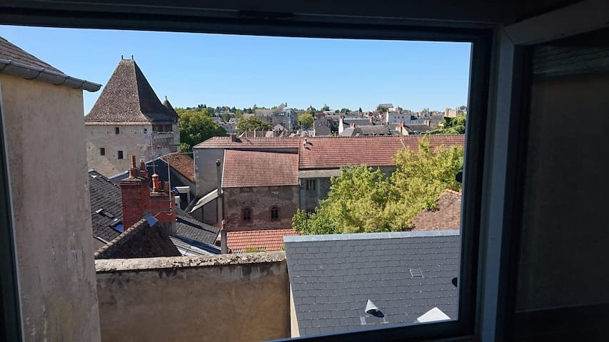 Appartement cosy, Nevers centre..