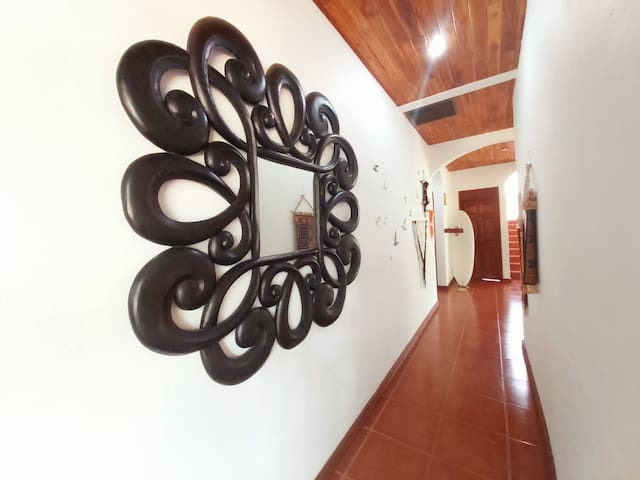 CASA ALICE, room with A/C, fully equipped kitchen
