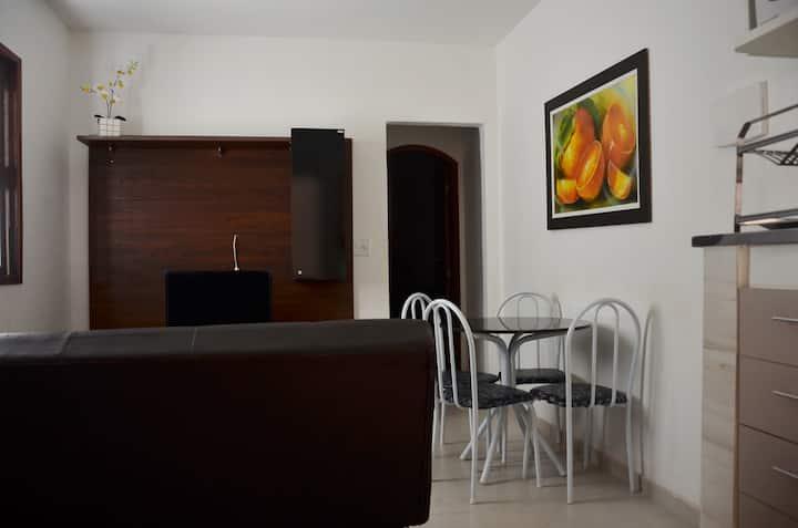 Apartamento próximo à praia (valor até 5 pessoas)