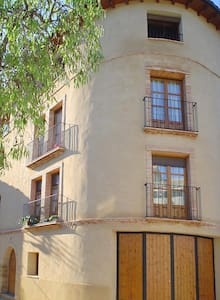 """Apartartamento """"As Peñas Bllancas"""". Casa Plana - Colungo - Lakás"""