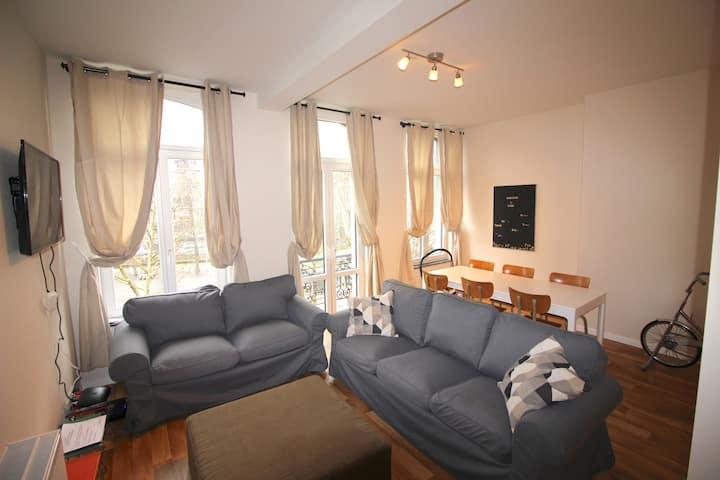 Appartement 3 chambres en plein centre ville