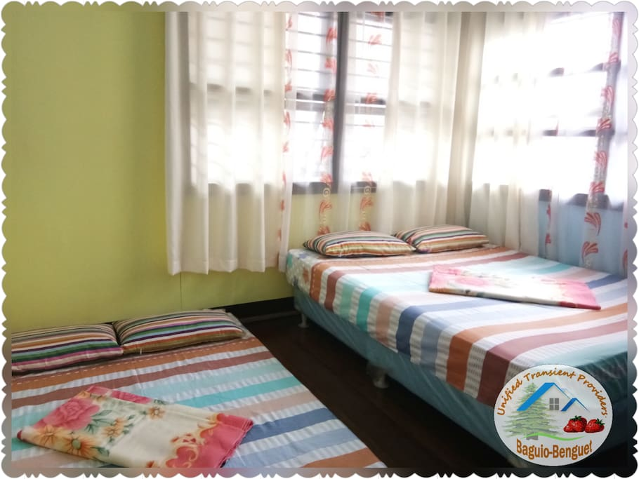 BEDROOM 2 good for 4 - 5 persons