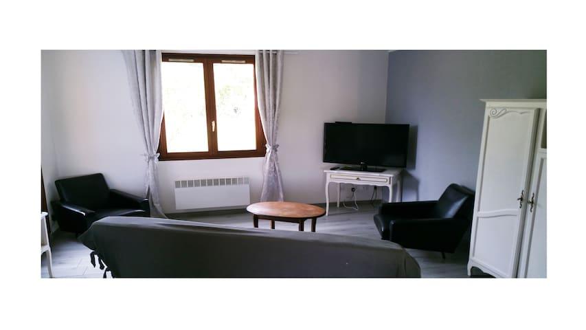 Gite 2 chambres 6/7 personnes à 30 min de VERDUN - Dun-sur-Meuse - Rumah