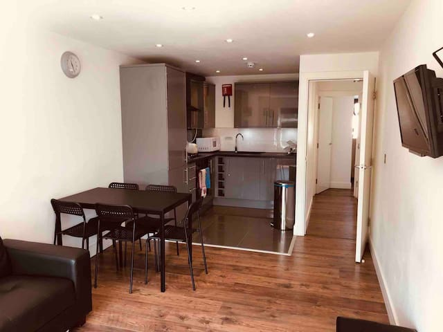 Modern Apartment, seconds from tube station