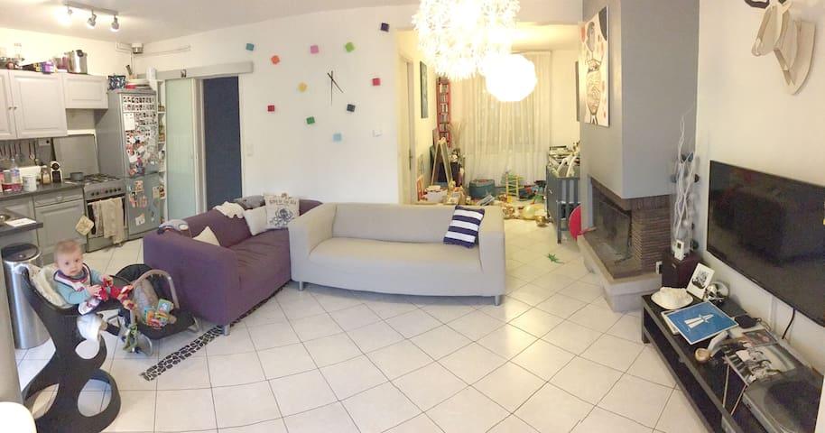 Maison individuelle avec jardin - Lille - Casa