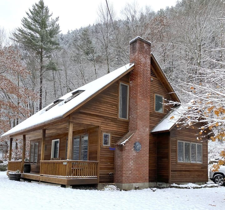 The Strac Shack is a beautiful private home with large front porch