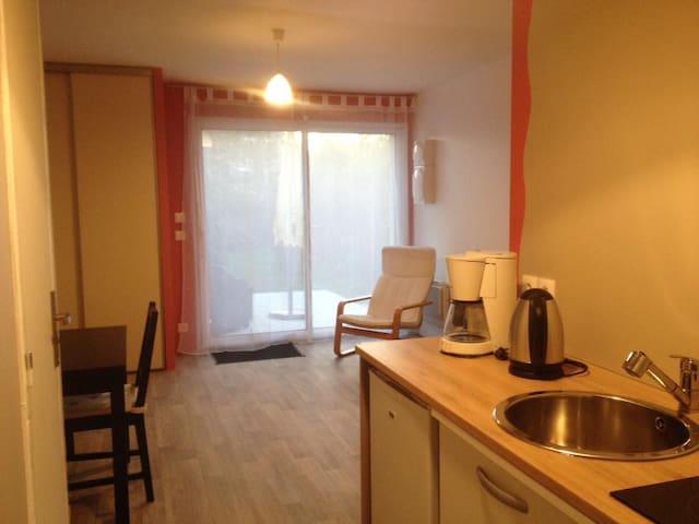 Appart 2 pces 4 couchages équipé - Gretz-Armainvilliers - Apartment