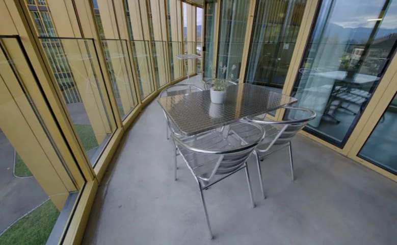 Apartment with balkony 2.5 km from Luzern center
