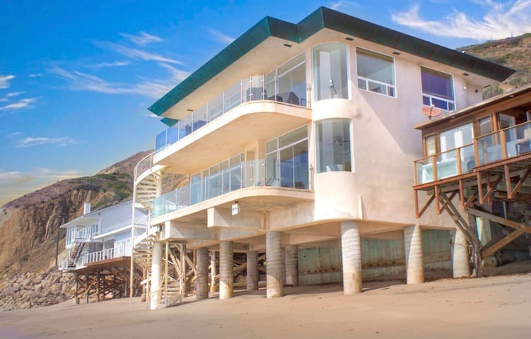 Malibu's Finest Ocean Front on Private Beach