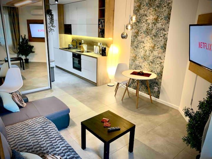 Luxury Studio with Air Conditioning - Zakrzowek