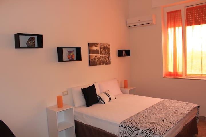 Valderice Rio Apartaments - Double room Arancione