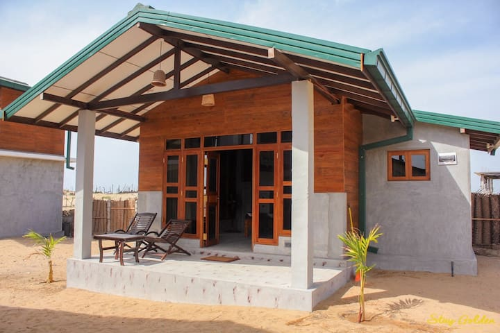 Stay Golden Double Cabana with Garden View
