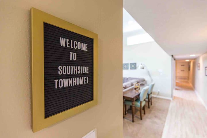 Welcome to Southside Townhome! Hope you can relax and enjoy what this college town has to offer.