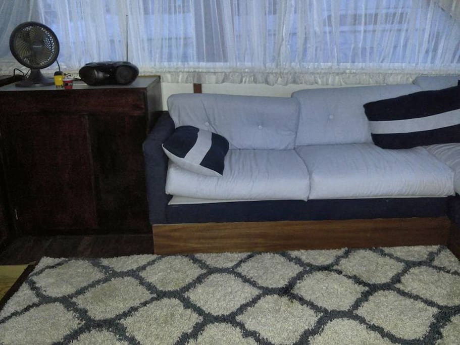 Salon L Shaped Couch