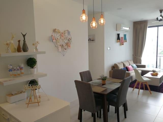G Residences@Galacity, Kuching (舒适套房)