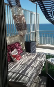 Nice Studio with fantastic sea view - Pireas - Apartment