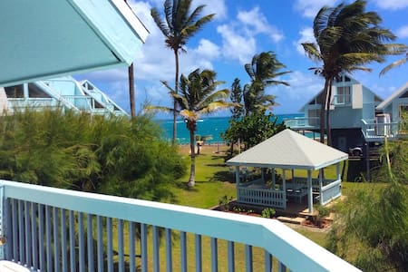 Ocean view full condo, 2 minute walk to the beach - Basseterre - Talo