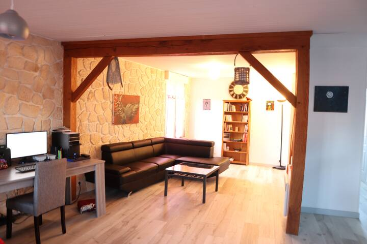 Chambre charmante maison, proche Vierzon-Bourges.