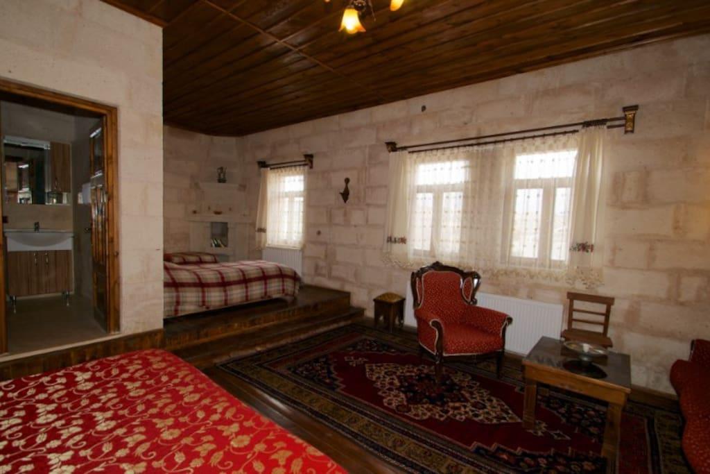 Cappadocia Stone  TRIPLE   Room