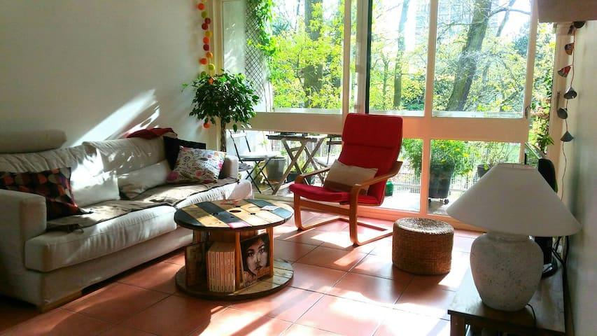 Cosy,spacieux&calme près Paris&Orly - Verrières-le-Buisson - Apartamento