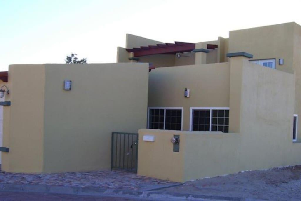 Casa Monterrey - Front View with Garage