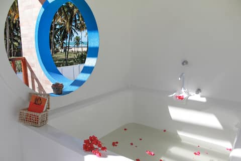 Villa Jubi, a sua casa em Flecheiras a beira mar
