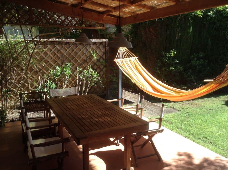Tavolo da pranzo patio entrata