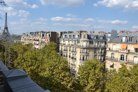 Charming studio , view EIFFEL TOWER ! - Byt