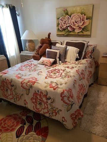 private guest room to call home while in town