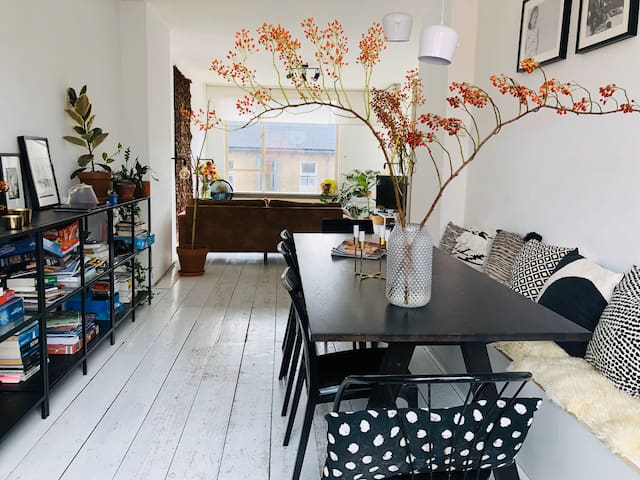 Stylish and trendy apartment