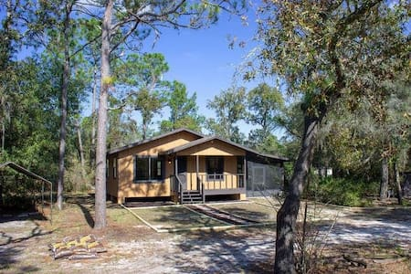 Guest house on the Withlacoochee River!