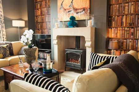 Award winning modern cottage sleeps 4 - Giggleswick - Casa