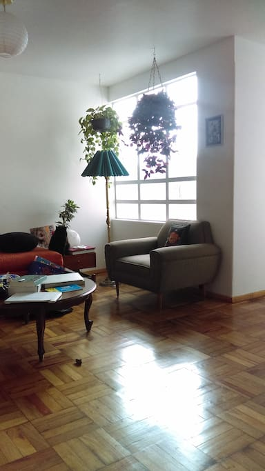 A part of the living room