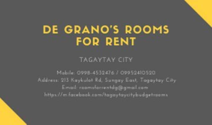 Tagaytay City - Budget Rooms for Rent