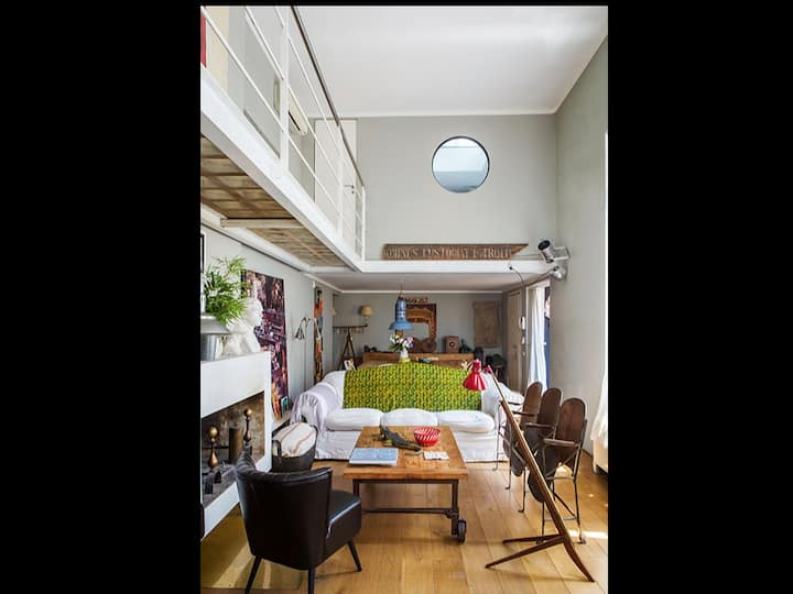 amazing loft with roof garden