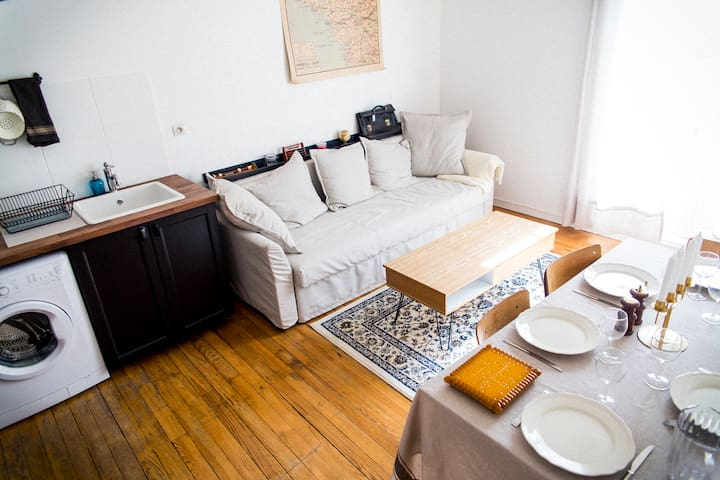 Appartement 3* | Centre ville + parking | 2-6 pers