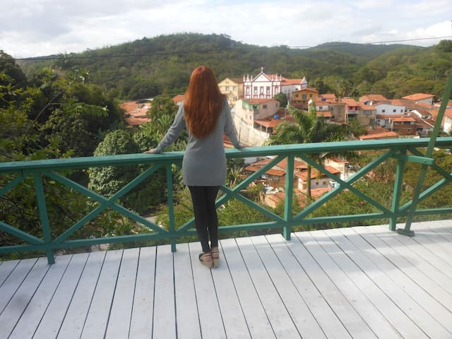Casa com vista maravilhosa! - Pacoti - บ้าน