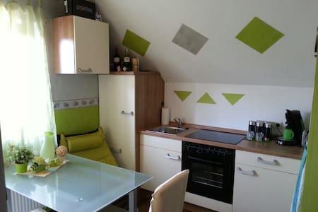 Kleine Ferienwohnung an Frankens Saalestück - Hammelburg - Apartament