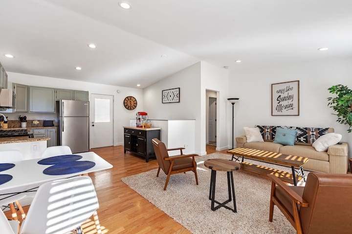 Updated & Spacious Designer Downtown CDA Home