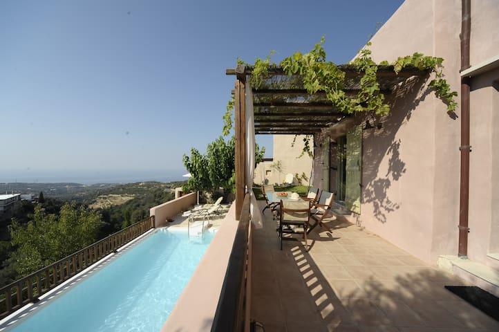 Thimonies villas-Lovely view-Rodia - Roussospiti - Villa
