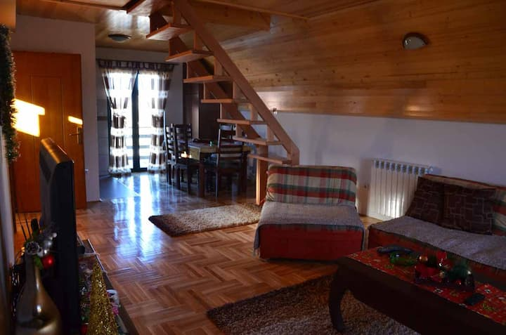 Zabljak Duplex Apartment with terrace and parking