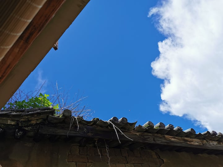 【花城居 .度假民宿大床房】=茶室.竹苑.完美厨房.智能家居.景观大床房
