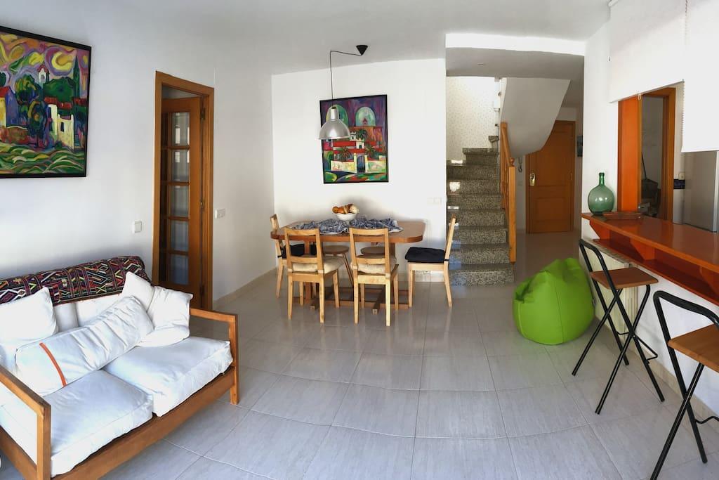 Salón-Comedor / Living room (I)