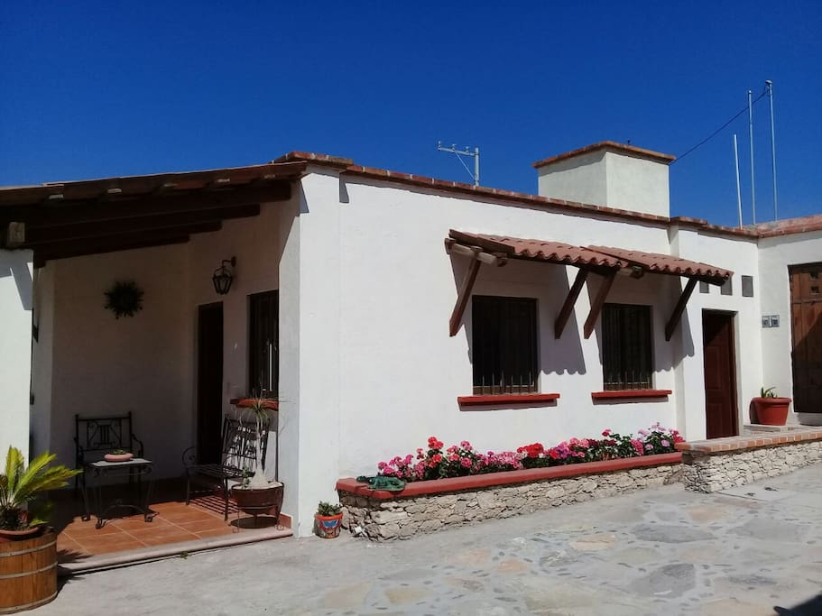 Casa de campo independiente en Peña de Bernal